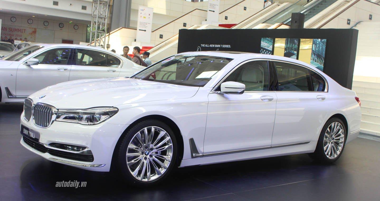 BMW 750li nuột nà về đến VN là 6,4 tỷ