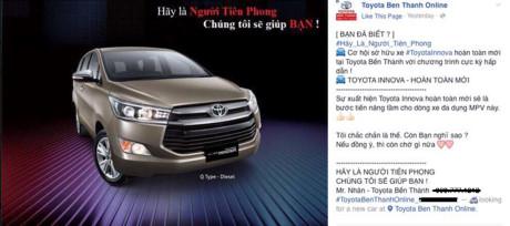 Có 1 tỷ mới mơ mua được Toyota Innova 2016 ở VN