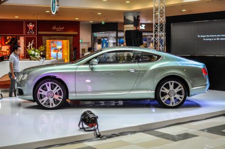Siêu xe Bentley GT V8 đang giao bán tại Sài Gòn