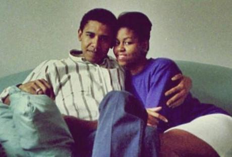 TT Obama và vợ có cả một tình yêu đẹp