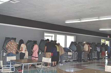 Bỏ phiếu ở Quận Cam diễn ra như thế nào?