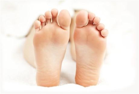 Nhìn bàn chân có số giàu sang