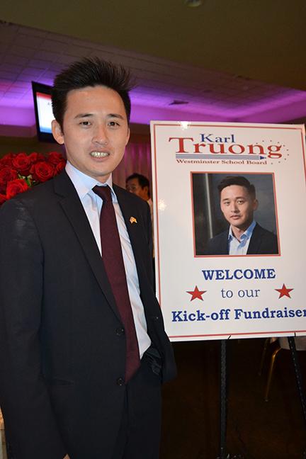 Thanh niên Mỹ gốc Việt trên đất Mỹ rất giỏi gây quỹ ra tranh cử