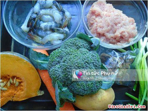 Nấu súp rau củ quả hỗn hợp đủ dinh dưỡng cho cả nhà