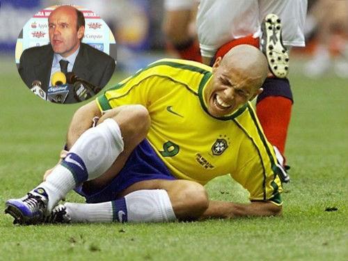 Tiết lộ bí mật khiến cả thế giới ngỡ ngàng về vụ động kinh giữa WC của Ronaldo béo huyền thoại