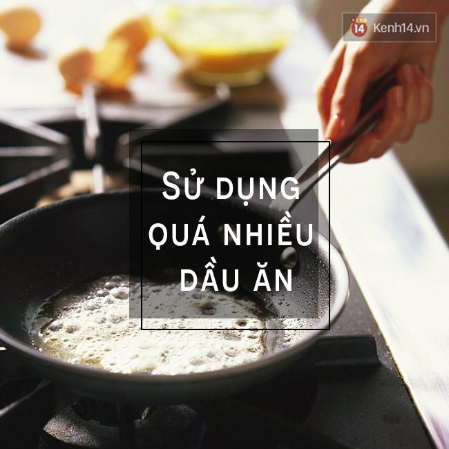 Đồ ăn nào có lỗi gì đâu, tăng cân là lỗi do cách người nấu mà thôi.