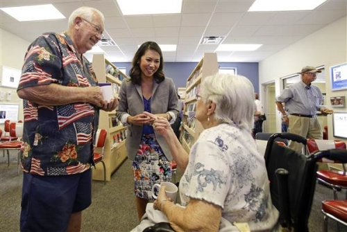 Hạ viện Mỹ trải thảm đỏ đón chào người phụ nữ Việt đầu tiên đặt chân vào làm việc.
