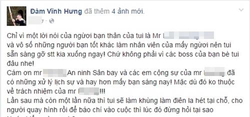 """Đàm Vĩnh Hưng """"điên tiết"""" làm loạn sân bay vì bị """"khinh thường"""""""