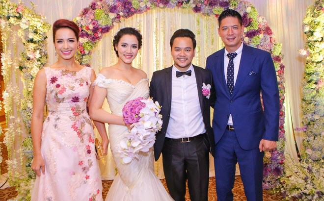 Dàn sao Việt đến dự tiệc cưới vợ chồng Trang Nhung